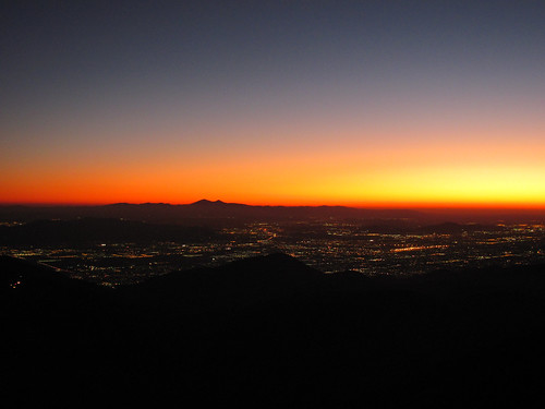sunset darkness socal