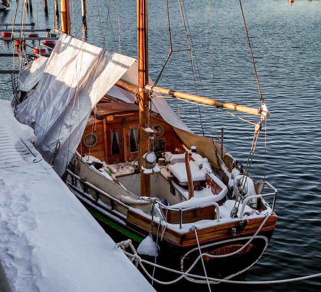 Winter in Stenungsund Harbour - 3