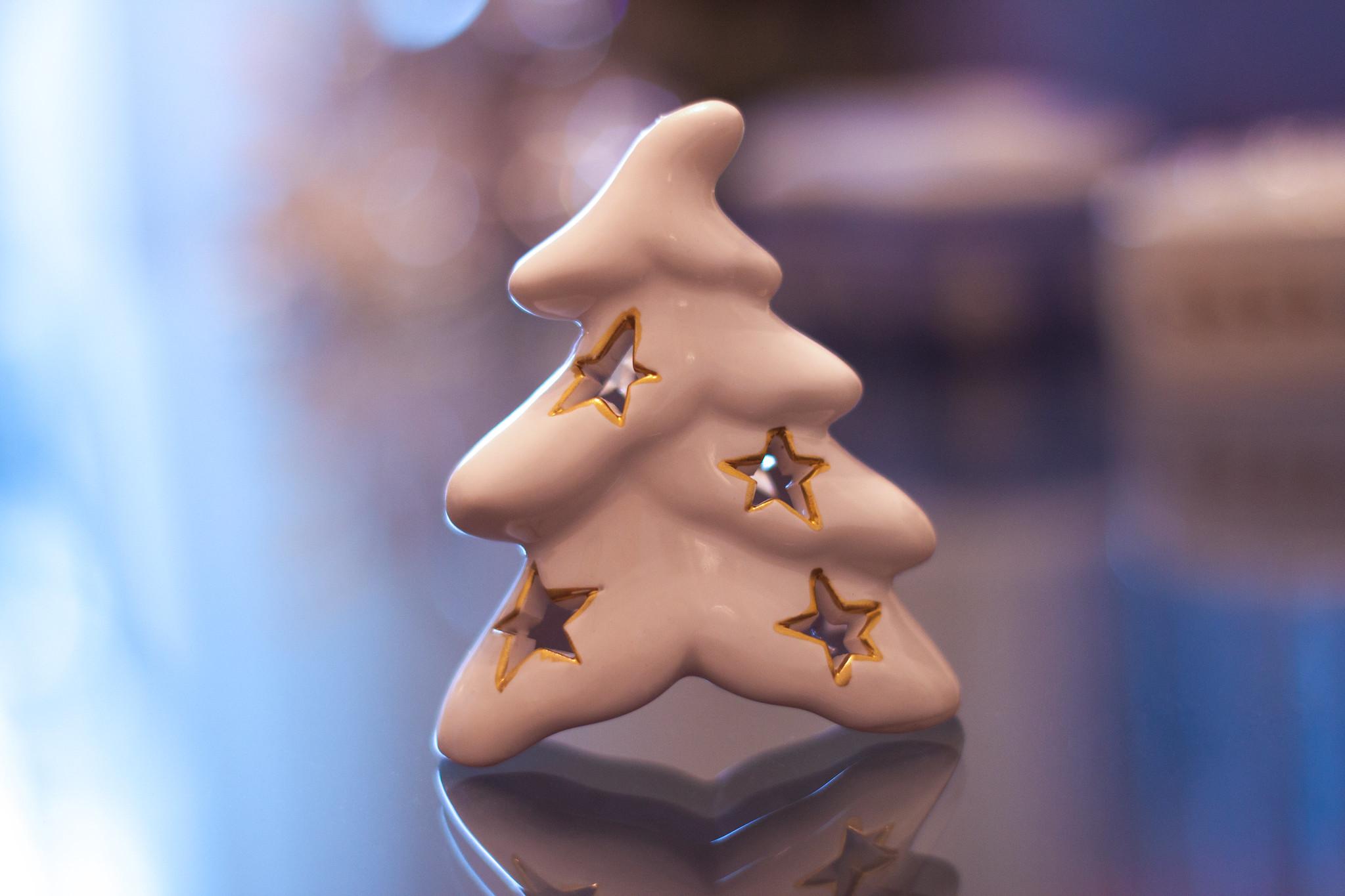Albero di Natale in ceramica