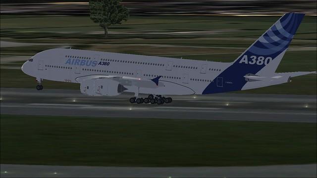 A380 On Takeoff EGCC