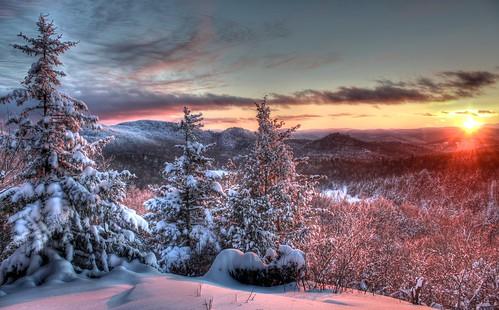 winter sunset snow vermont december hdr vt westbolton tonemapped libbyslook