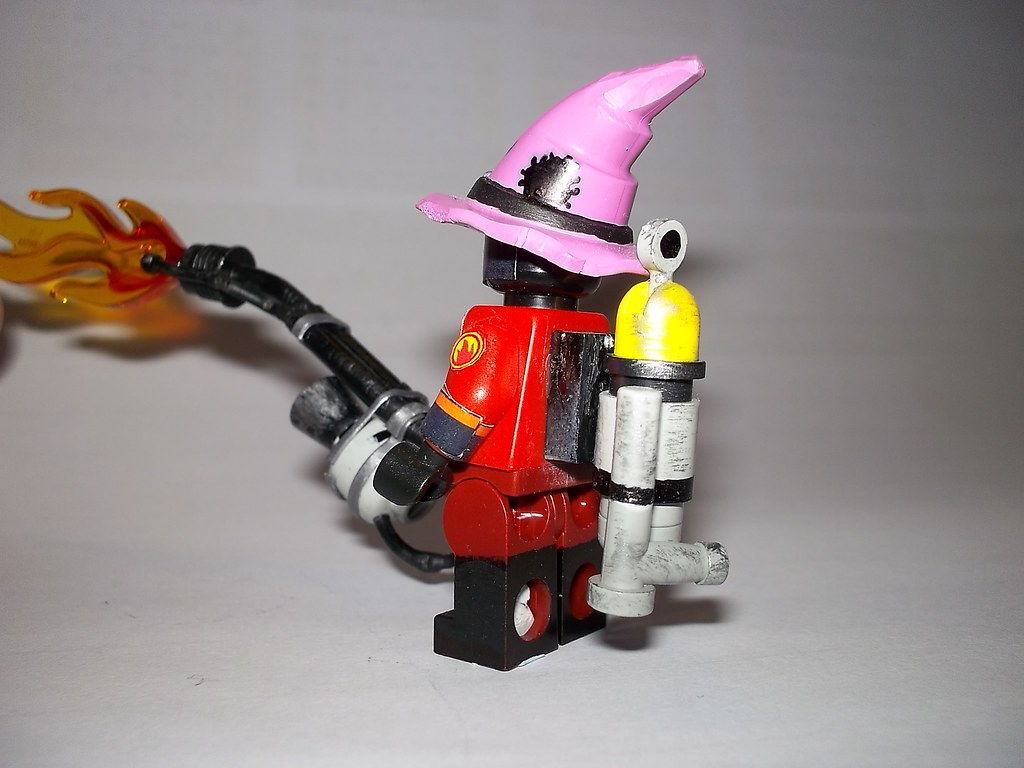 TF2 Team Fortress 2 Lego Pyro view 3 | The Pyro, sporting th