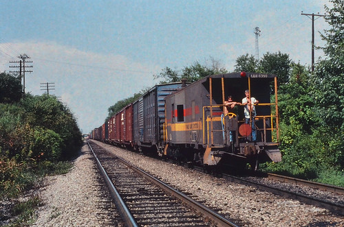 nashville caboose august1980 nashvilletn waycar ln6390