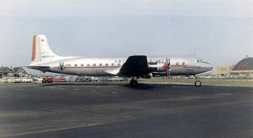 Chicago Midway Airport - American Airlines DC-6B