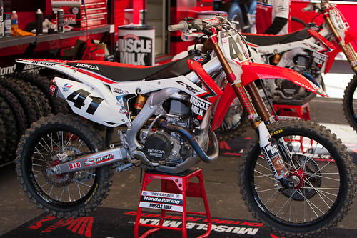 Trey Canards Factory Honda 450