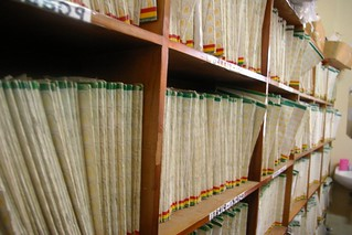 Medical records in Ghana clinic | by MamaYe!