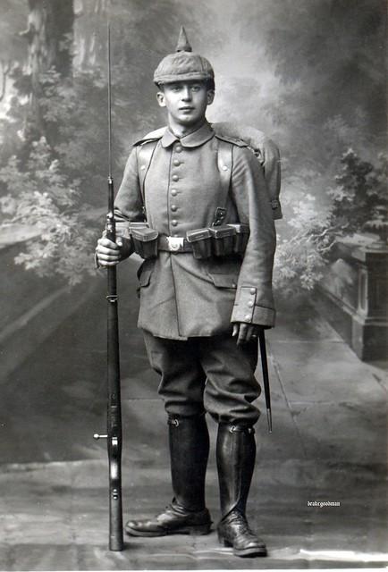 Reserve-Infanterie-Regiment Nr. 15, Minden circa 1916