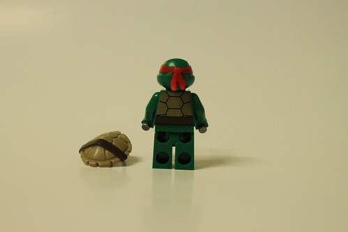 LEGO Teenage Mutant Ninja Turtles Stealth Shell in Pursuit (79102) - Raphael | by tormentalous