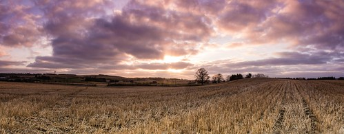 sky panorama sunrise aberdeenshire newmachar