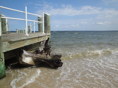 Pier at Piney Point Lighthouse