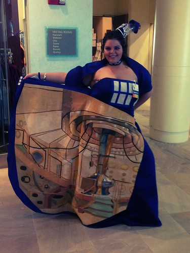 TARDIS dress. | by jere7my