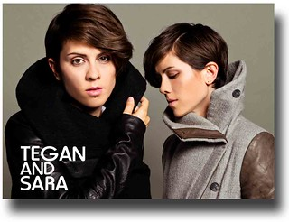 Tegan and Sara Posters – HeartThrob Promo Collection