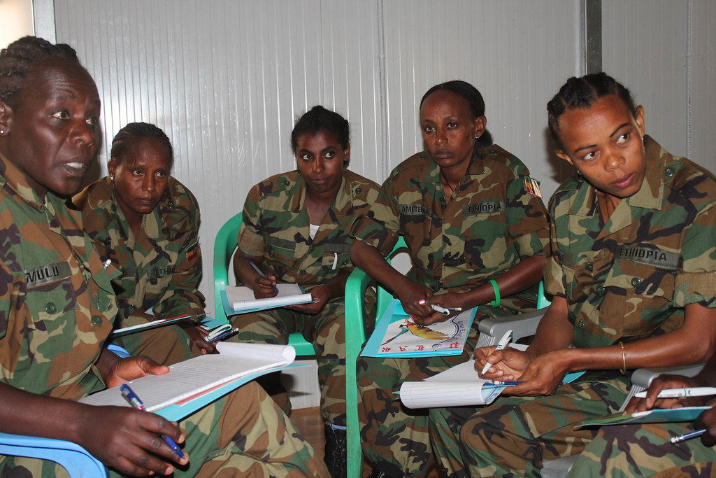 2016_08_23_SGBV-4 - AMISOM ENDF female soldiers attend a Sex… - Flickr