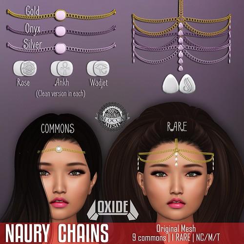 OXIDE Naury Chains Gacha