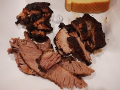 金, 2012-12-07 19:40 - Burned ends, Pork belly, Brisket