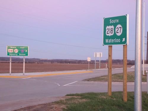 janesville interchange clearview bremercounty bgs us218 ia27 avenueofthesaints countyroadc50