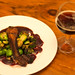 """with """"Grand Cru"""" Flanders Red Ale, Brouwerij Rodenbach"""