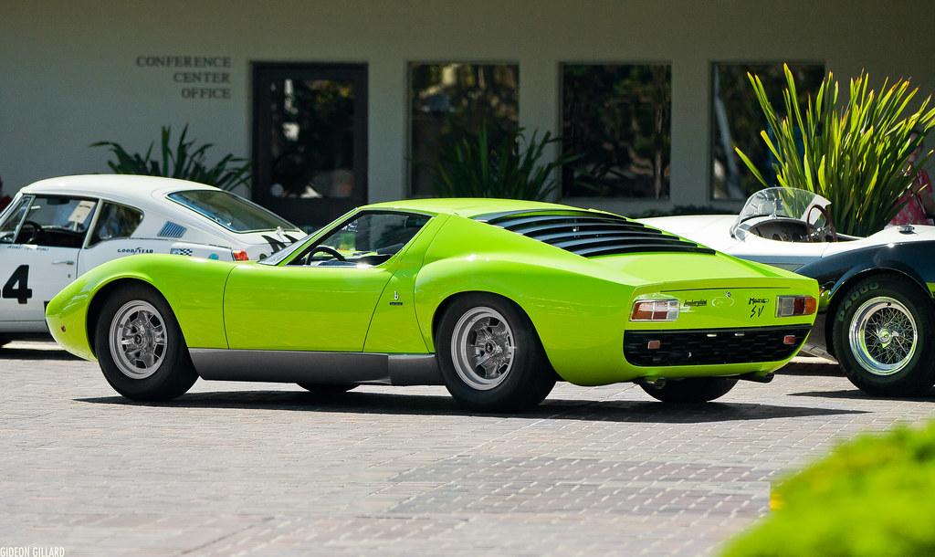 Lamborghini Miura Green Has Looked Good On Lambos Since Th Flickr