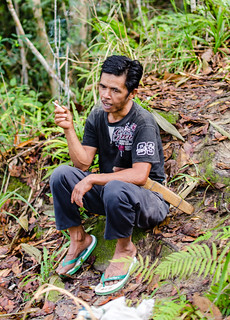Sulawesian jungle trek porter | by Jerome Nicolas