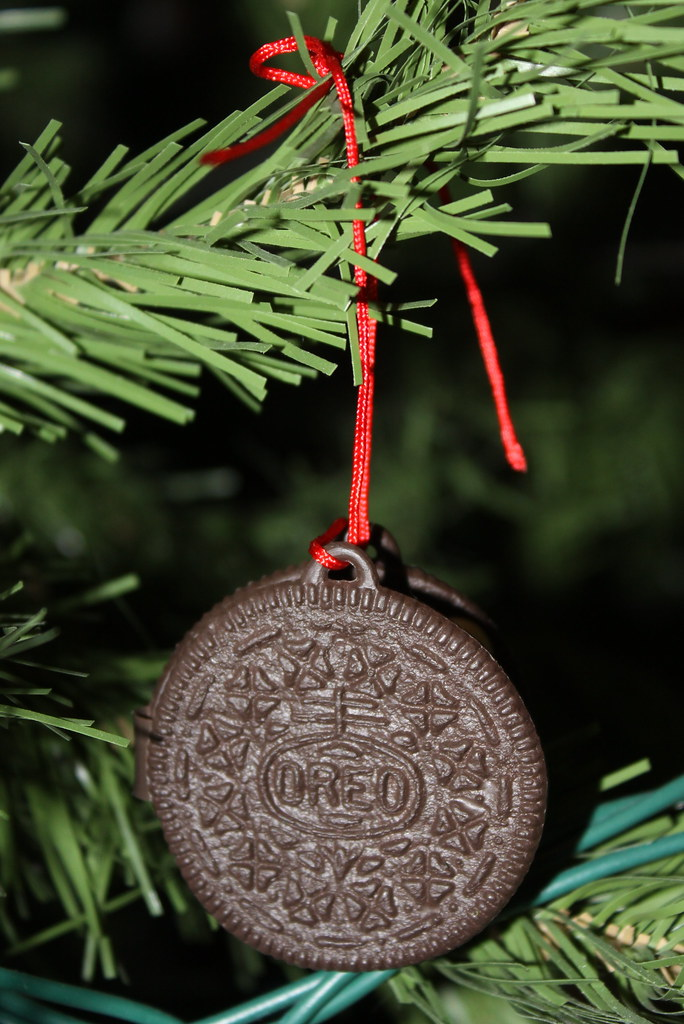 Vintage Oreo Cookie Ornament Made By Hallmark In 1986 The Flickr
