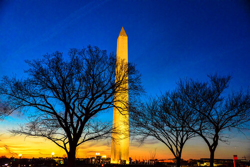 sunset usa tower monument night evening us george dc washington districtofcolumbia memorial december unitedstates dusk obelisk mygearandme flickrstruereflection1 ilobsterit