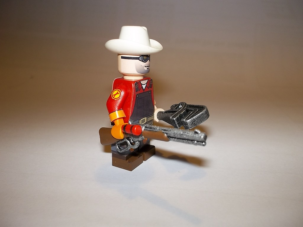 TF2 Team Fortress 2 Lego Engineer view 2 | The Engineer, spo