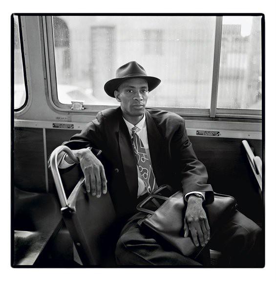 Man on Bus, Allston, Massachusetts 1992