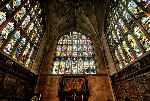 Winchester Cathedral Lady Chapel | by Hexagoneye Photography