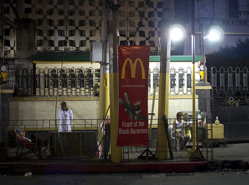 McDonald's commemorates the Feast of the Black Nazarene | by ad.hermann