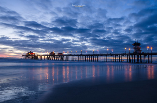 ocean california longexposure sunset portrait beach water colors night dark landscape pier nikon colorful tripod huntingtonbeach huntingtonbeachpier d7000 nikond7000