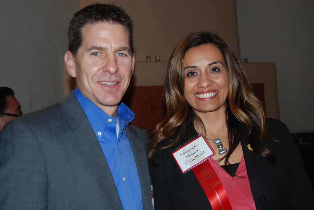 f3eca6929 ... Representative Monica Youngblood & Chris Youngblood | by UNM Alumni