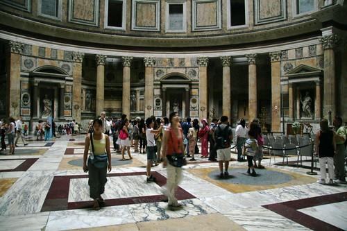 The Pantheon   by dionc