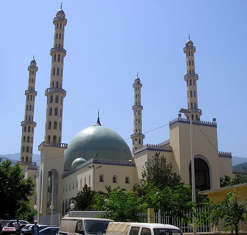 algeria minaret mosque dome blida مسجد البليدة الجزائر