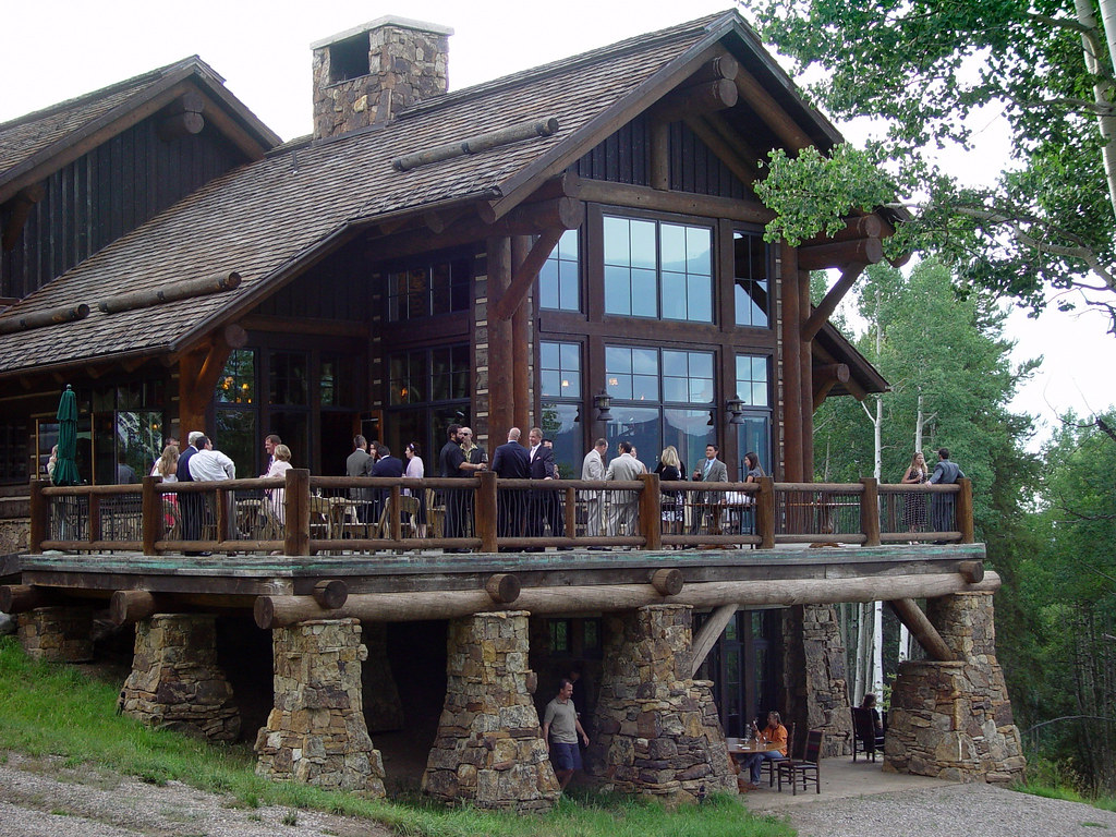 Reception Held At Zach's Cabin