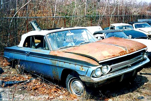 1962 Oldsmobile Cutlass | This was a 1962 Oldsmobile F-85/Cu