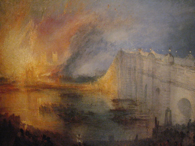 The Burning of the houses of Parliament, October 16, 1834