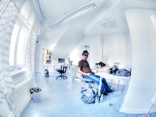 Office: want Otso's job?   by wili_hybrid