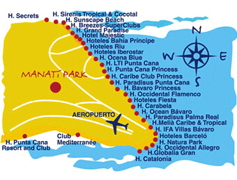 Punta Cana Resorts Map Map of Punta Cana | Punta Cana Resorts Map | Steven Waslander | Flickr