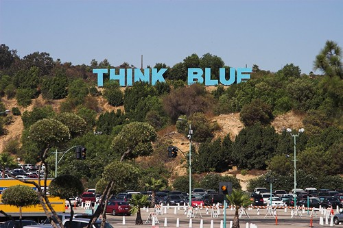 dodgers - think blue | by woolennium