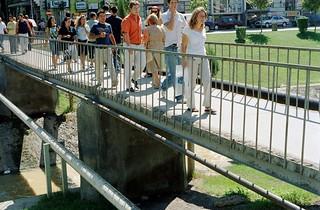 passerella a Tirana