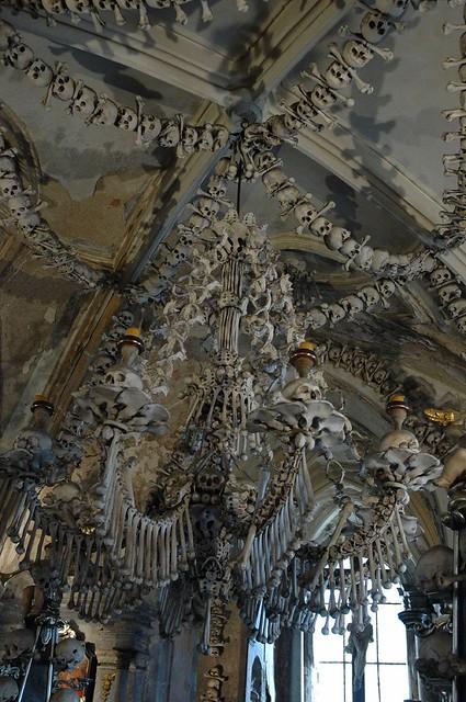 Ossuary in Sedlec interiors 2