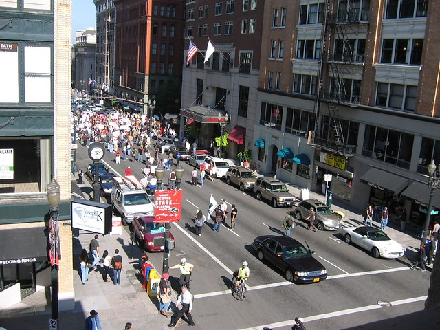 Downtown Portland Protest 1
