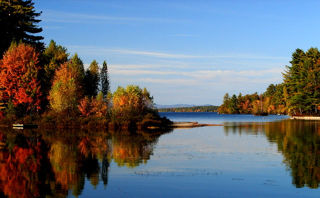 Thompson Lake, from The Heath