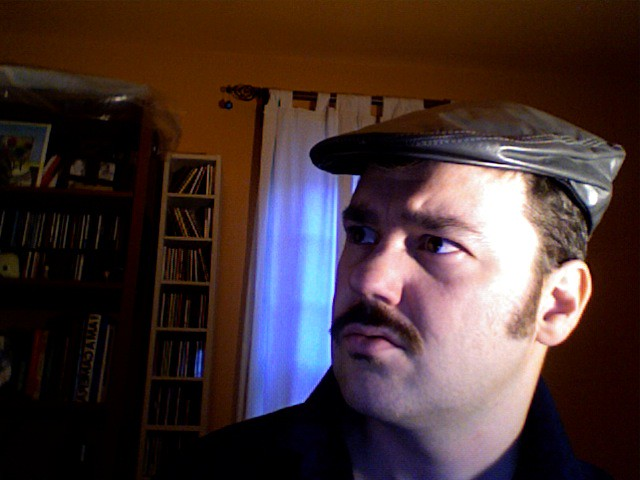 Moustachio'd, while supplies last