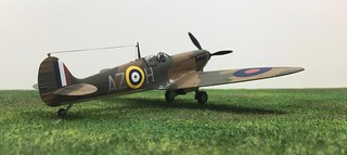 1/72nd Supermarine Spitfire MkIa | by Snaptophobic