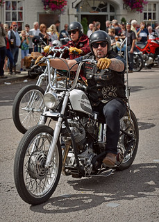 Black Widows on Main Street.. | by Harleynik Rides Again.