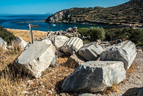 knidos turkey datça greek hellenistic hellenic cinidus ancient historical history historic theatre byzantine statuedemeter demeter aphrodite caria