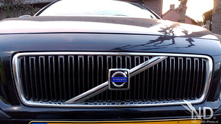 Volvo S80 2.4T Carbon 4D Wrapping the Grill | by ND-Photo.nl
