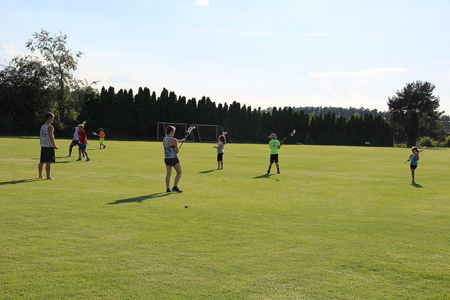 26 July 2018 - Youth Lacrosse Practice