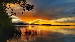 Sunset Over Klamath Lake